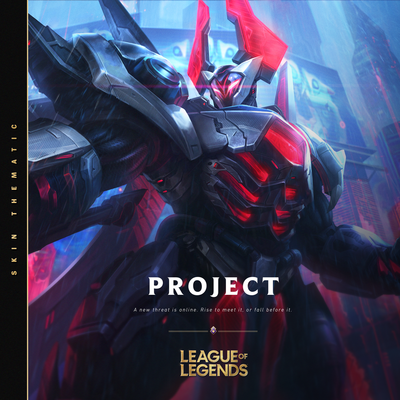 Обложка песни: League of Legends - PROJECT - 2021
